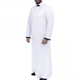 توبي بريت أبورتر – ثوب أبيض بأكمام ملونة