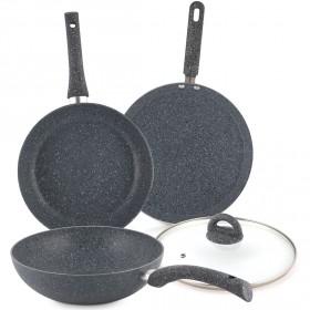 وندرشيف – طقم الطبخ الحجري من 4 قطع