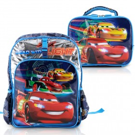 Heys - Disney Backpack with Lunch Bag - Cars