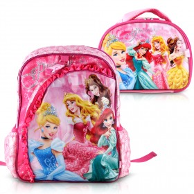 Heys - Disney Backpack with Lunch Bag - Princess