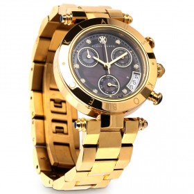 Klaus Kobec - Couture Gold Plated Watch
