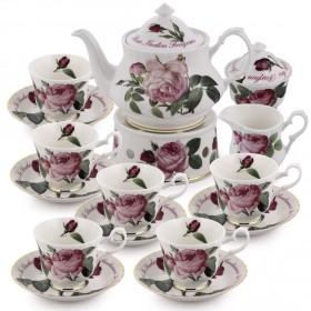 روي كيركهام – طقم الشاي بنقشة فرساي الذهبية – 10 قطع