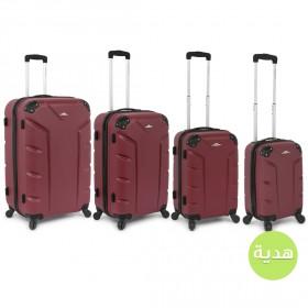طقم حقائب فلاش من 3 مع هديّة – بنفسجي