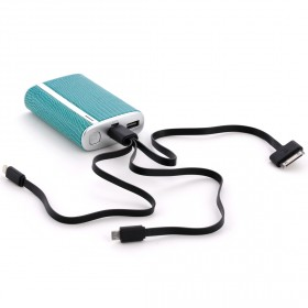 Halo - 7800 Power Pocket Charger - Turquoise Snake Skin