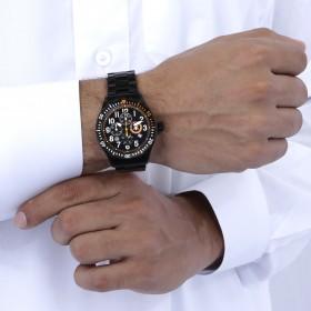 دي بي إيليت – ساعة كرونوغراف مع 3 أحزمة