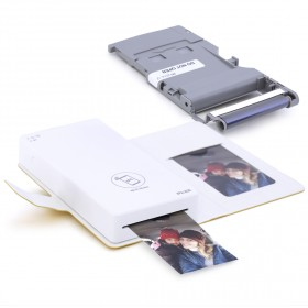 بيكيت – طابعة صور الهاتف مع 28 صورة - أصفر